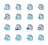 Documents Icons 1 Azure Series