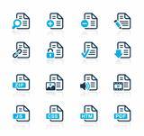 Documents Icons 1 Azure Series