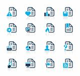 Documents Icons 2 Azure Series