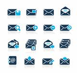 E-mail Icons Azure Series