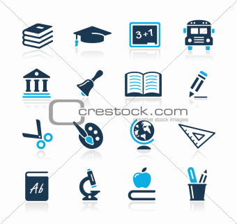 Education Icons Azure Series