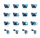 Folders Icons 1 Azure Series