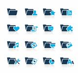 Folders Icons 2 Azure Series