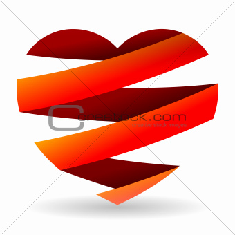 Sliced Red Heart