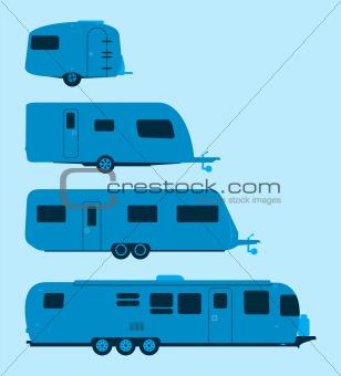 Caravan Silhouette