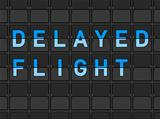 Delayed Flight Flip Board