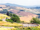 Panoramic views of the Tuscan-Emilian Apennines