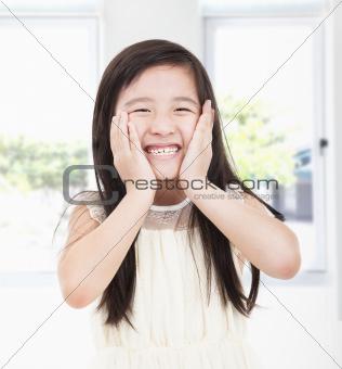 beautiful asian little girl