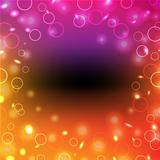Colorful Poster With Bokeh