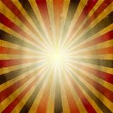 Vintage Square Shaped Sunburst