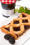 blackberry tarte