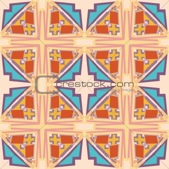 Block Geometric Pattern