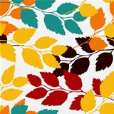 leaves, seamless pattern