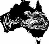 Crocodile as Australian symbol