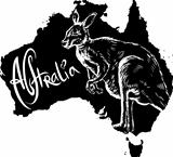 Kangaroo as Australian symbol