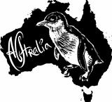 Little penguin as Australian symbol
