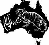 Tasmanian devil as Australian symbol