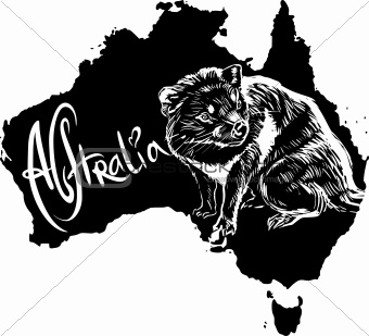 Tasmanian devil as Australian symbol