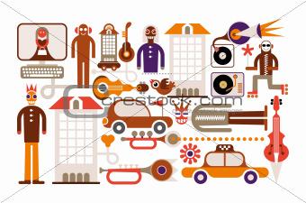 Carnival - vector illustration