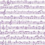 Music note sound texture.