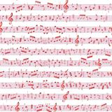 Music note sound texture