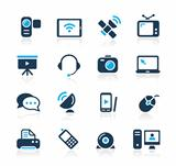 Communication Icons Azure Series