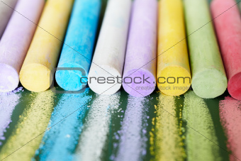 color chalks