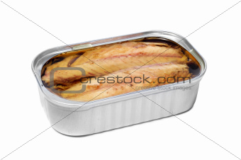 can of canned mackerel