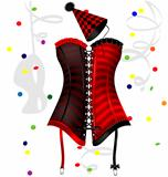 carnival corset