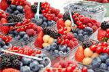 Fresh mixed berries for sale