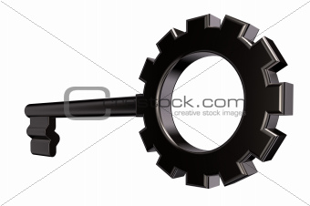 gear wheel key