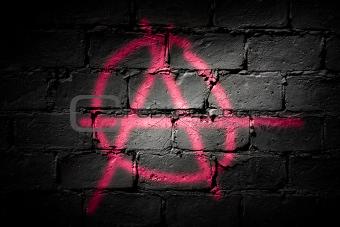 Punk letter A