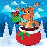 Reindeer theme image 7