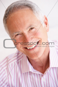 Portrait Of Happy Senior man
