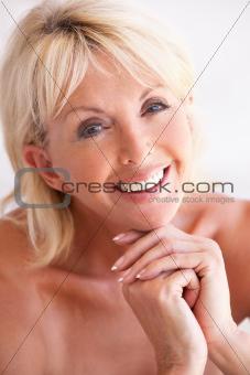 Portrait Of Attractive Senior Woman