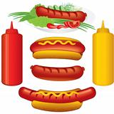 Hot Dogs Set