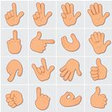 Human Hands Clip Art 2