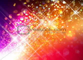 Abstract Sparkly Background