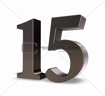 number fifteen