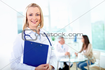 Lovely practitioner