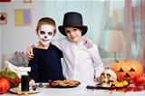 Halloween twins
