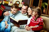 Family reading