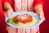 Moms Homemade Spaghetti