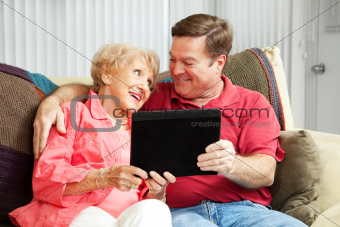 Teaching Mom the Tablet PC