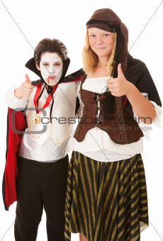 Thumbs Up for Halloween