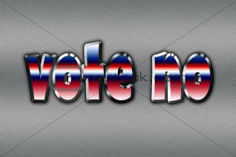 Vote no