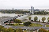 Bridge in Bratislava Slovakia