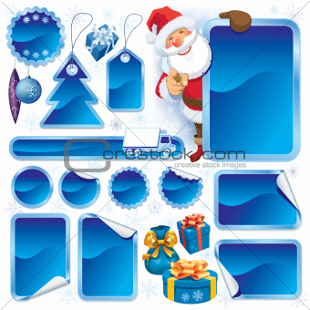 Blue Christmas sale