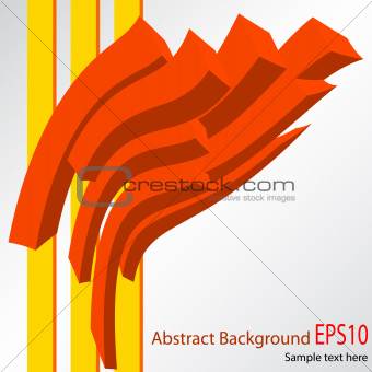 Abstract red vector background