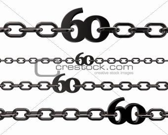 metal number sixty
